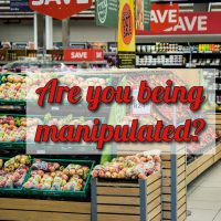Marketers manipulate us every time we enter a store