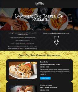 Best Restaurants in Parker website