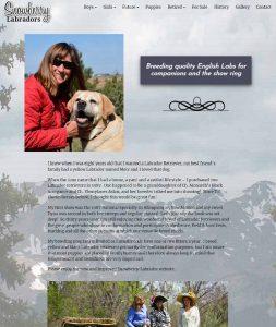 Snowberry Labradors website