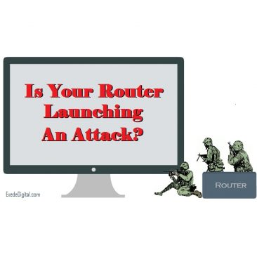 If your router is vulnerable, hackers may be using it to launch attacks on websites and other web properties. They can also use it to invade your home.