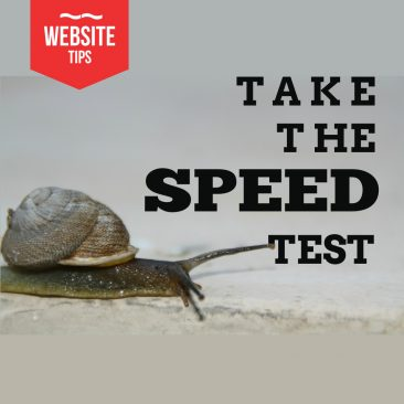 Take the Google Speed Test to see how your website measures up