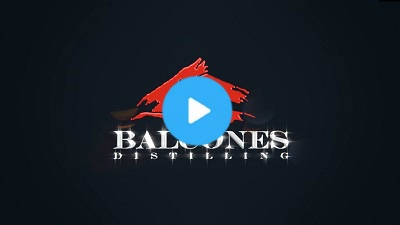 Logo animation for Balcones Distilling