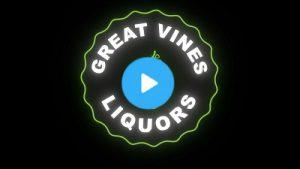 Logo animation for Great Vines Liquors