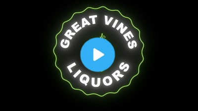 Logo animation for Great Vines Liquors