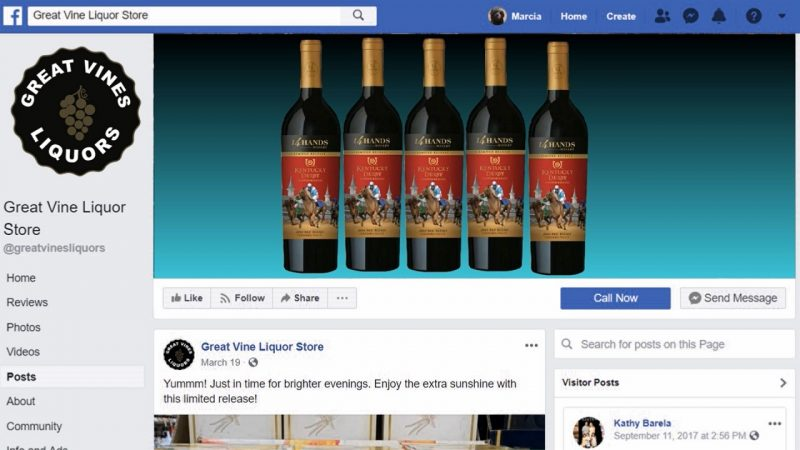 Facebook Header video for Great Vines Liquors