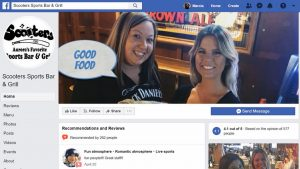 Facebook Header video for Scooters Sports Bar