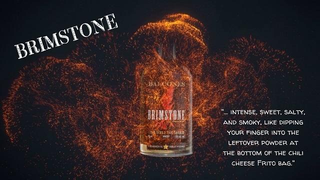 Brimstone whiskey product promotion video